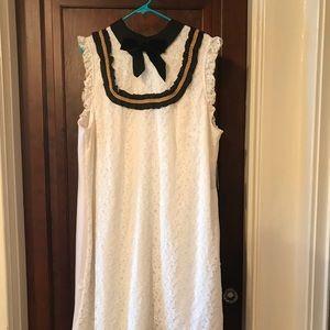 Eloquii White Lace Dress